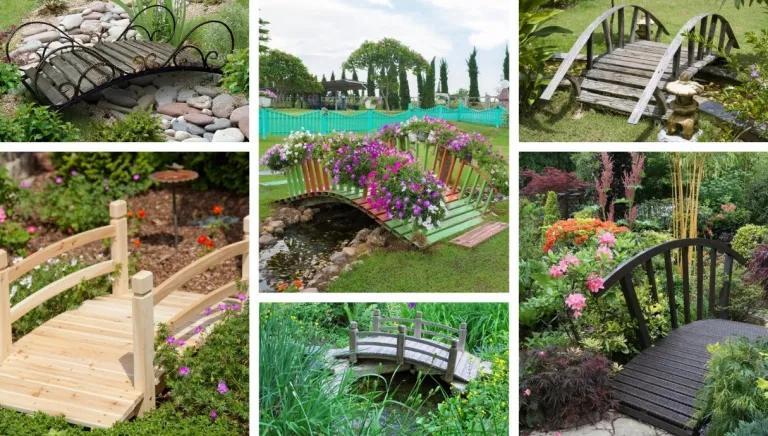 Декоративно мостче за градината